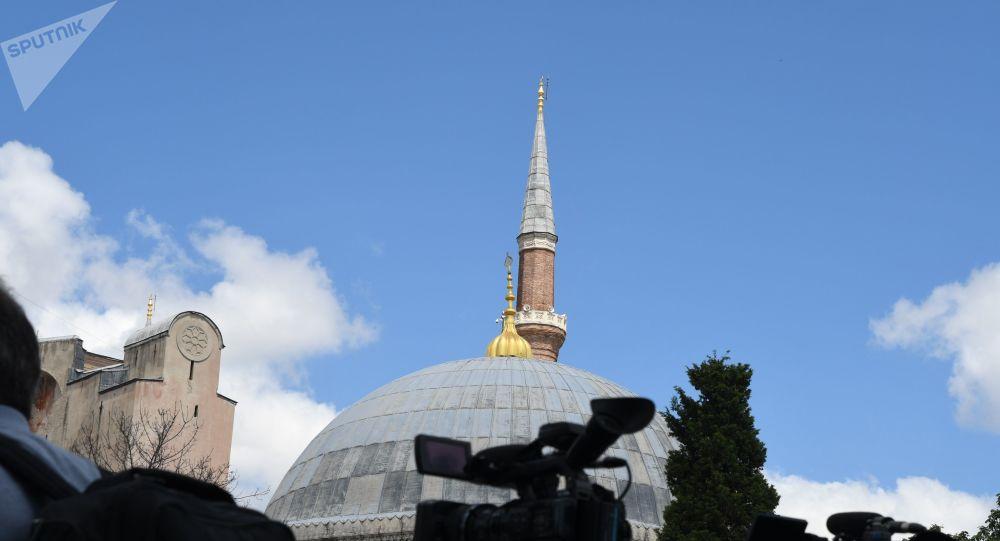 俄議員:土方有關索菲亞教堂的決定是為了提高民意支持度