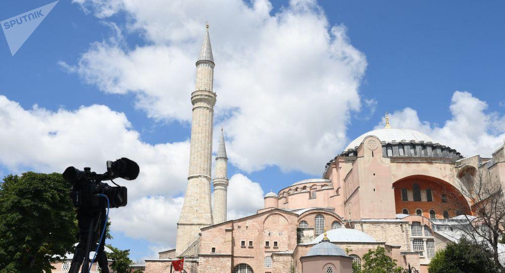 土耳其總統:已簽署命令 批准將索菲亞博物館改為清真寺
