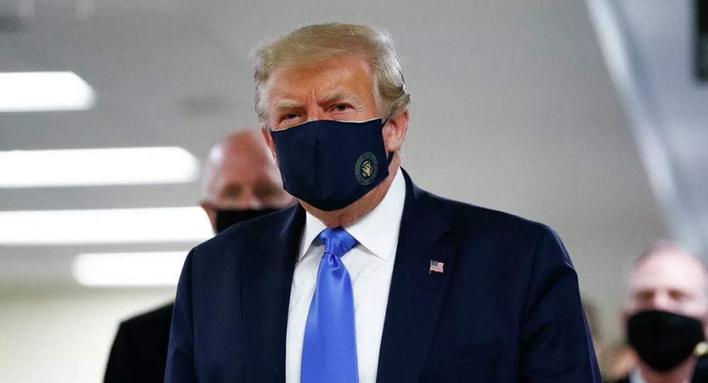 特朗普談戴口罩預防新冠病毒