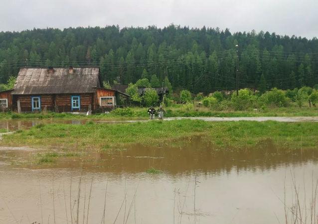 9月遠東地區河水達到危險水位的情況很少見