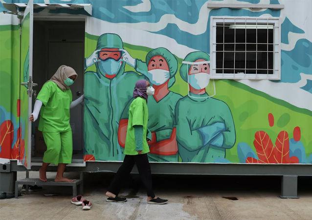 中國駐印尼大使談抗疫