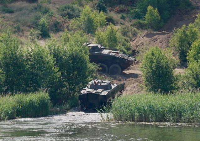 美軍在演習框架內向波蘭調派1個坦克營