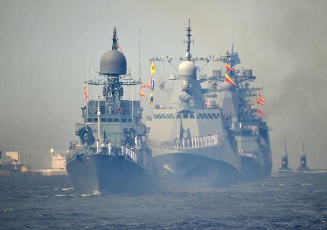 俄海軍閱兵式