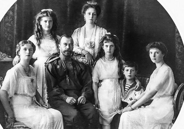 俄帝國末代沙皇一家