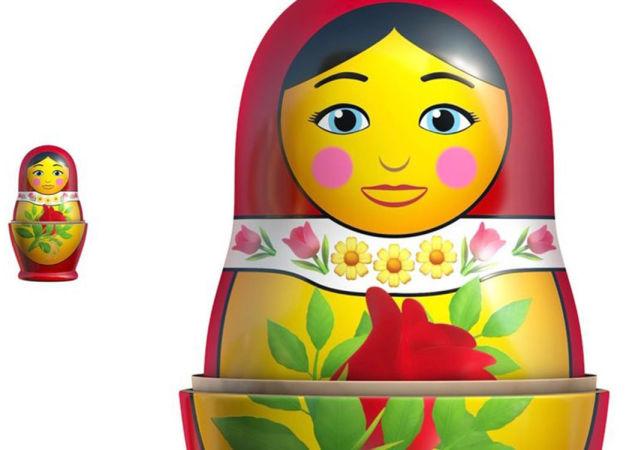 蘋果公司將在iOS 14系統中加入套娃表情符號