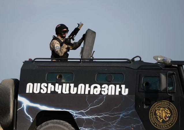 亞美尼亞軍人(資料圖片)