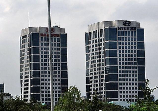 現代汽車總部和起亞汽車總部