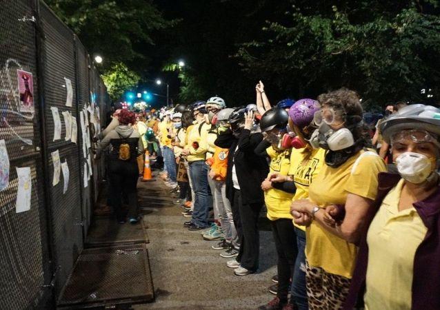 波特蘭抗議者