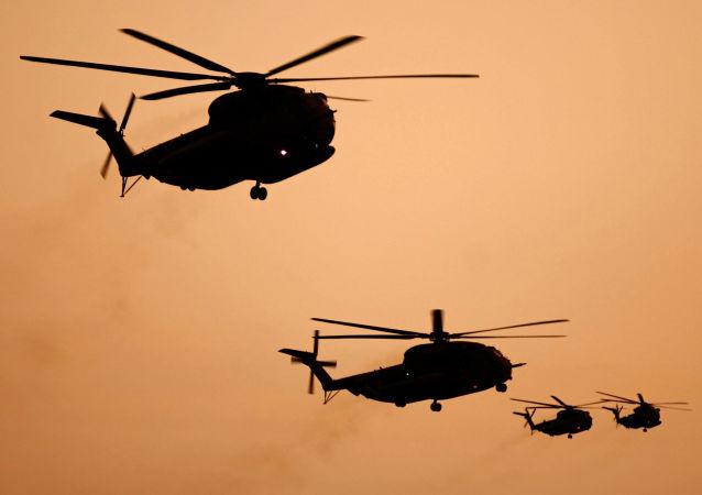 以色列軍隊直升機