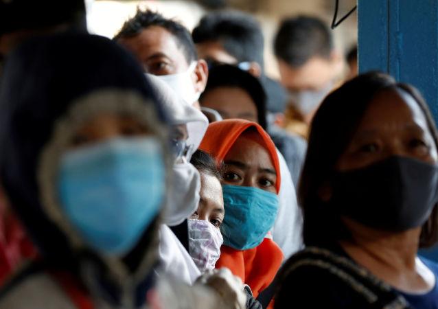 印尼宣佈自9月14日起恢復首都COVID-19防疫限制措施