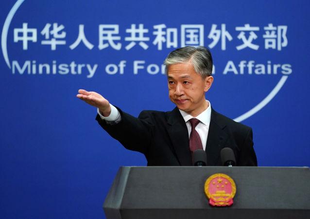中國外交部發言人汪文斌