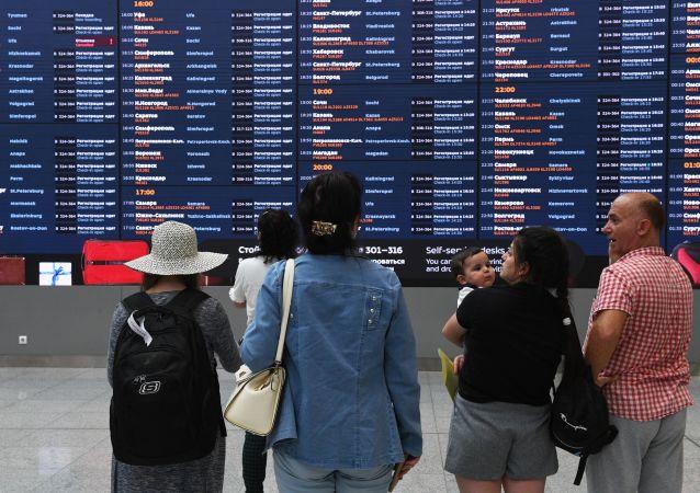 俄羅斯與六國恢復航空交通