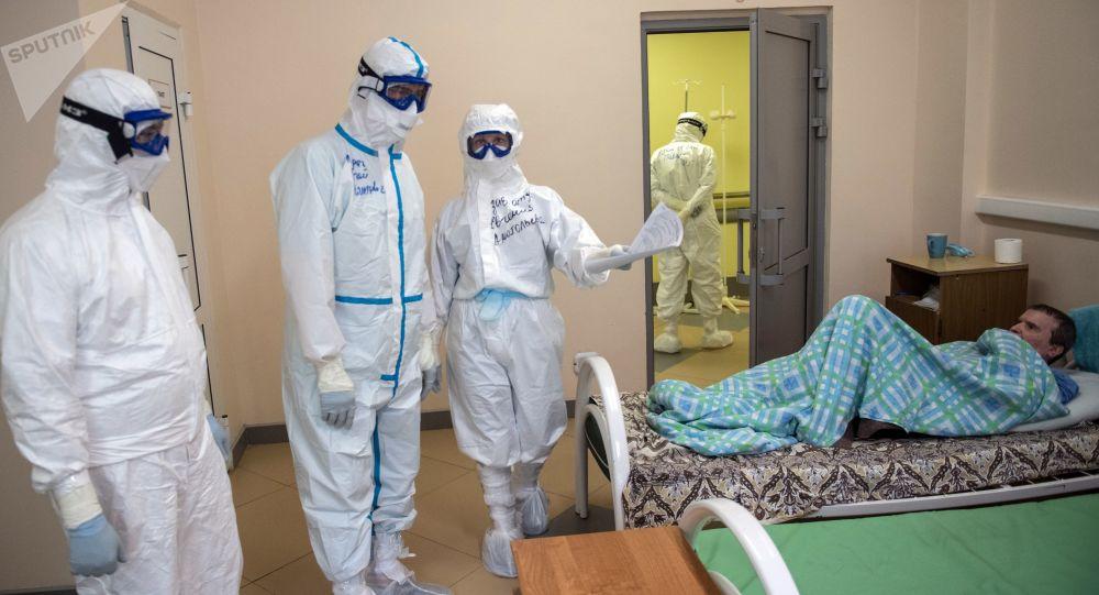 俄濱海邊疆區阿爾謝尼耶夫市11名醫務人員感染新冠病毒