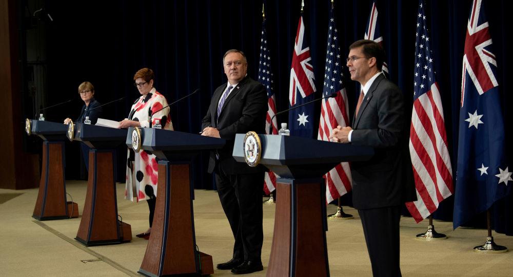 澳大利亞拒絕美國傷害與中國的關係