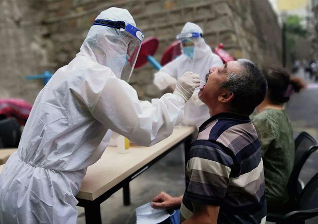 中國1月20日新增新冠本土確診病例126例