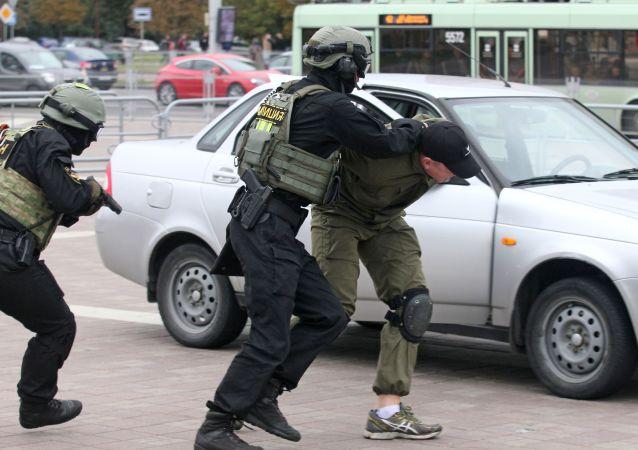 白俄羅斯警方