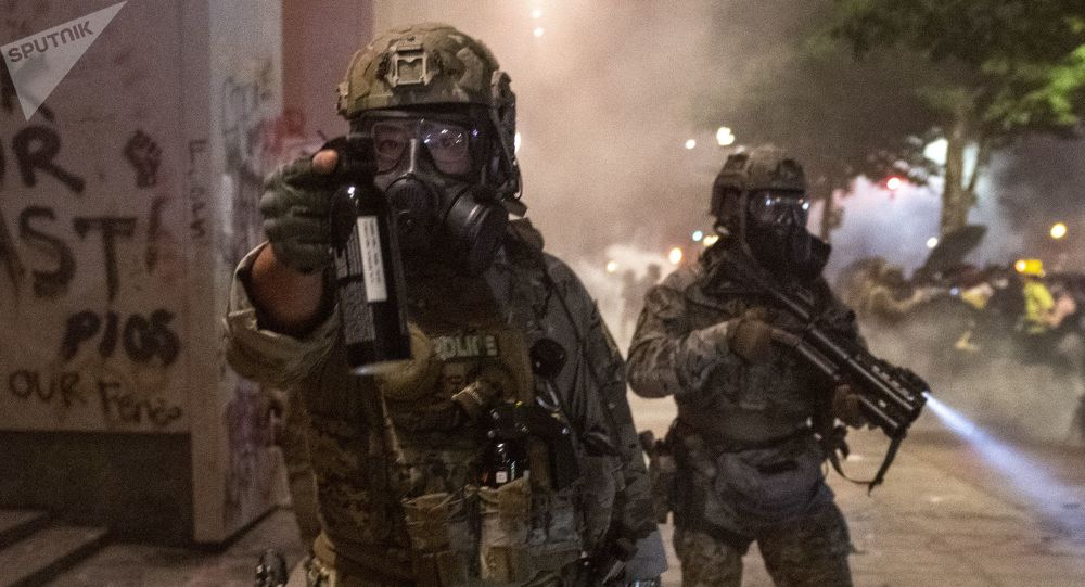 特朗普:美國國土安全部人員不會離開波特蘭