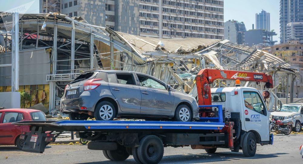 俄駐黎巴嫩大使:違反安全技術規定這一惡行誘發貝魯特大爆炸