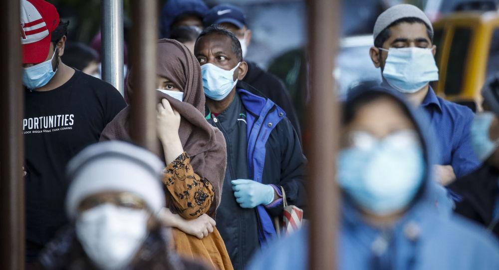 霍普金斯大學:美國單日新增COVID-19感染病例5.75萬例