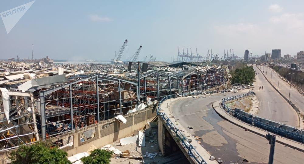 黎巴嫩內政部:貝魯特港區爆炸情況調查需要五天的時間