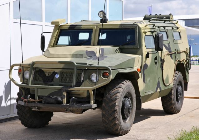 「虎-M」裝甲車