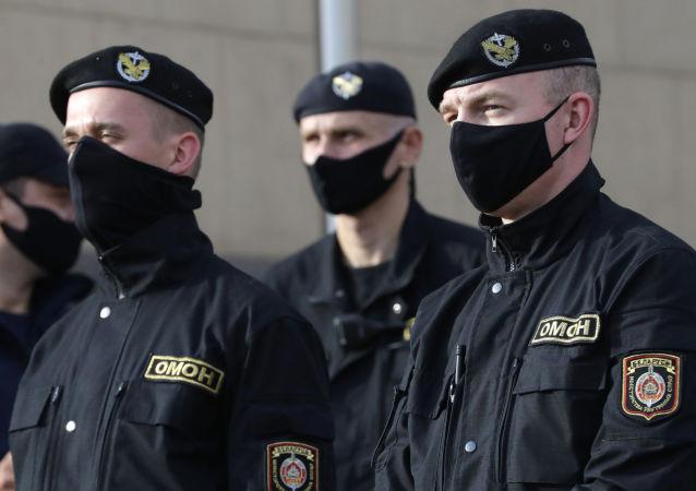 明斯克警察