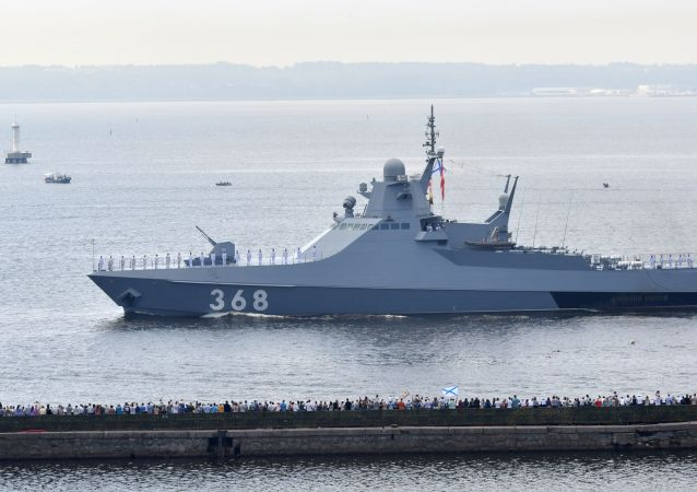 俄羅斯巡邏艦「瓦西里•拜可夫」號