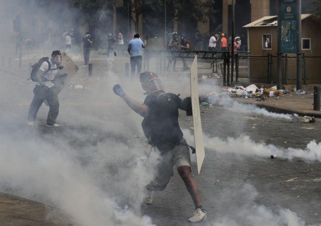 貝魯特抗議活動
