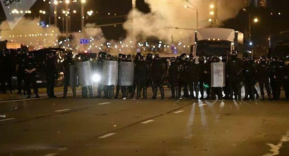 明斯克的抗議活動