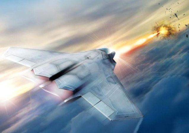 激光武器,殲擊機