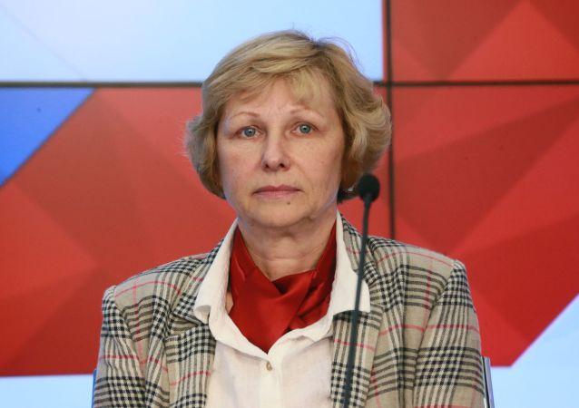 俄科學院地理研究所所長奧莉加·索洛明娜