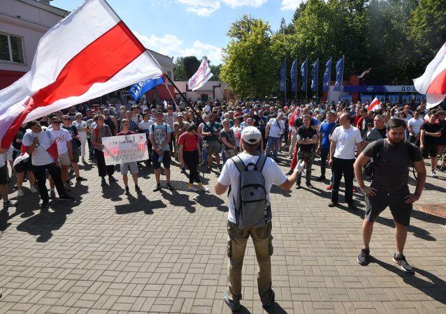 白俄羅斯抗議活動目前造成的損失至少達5億美元