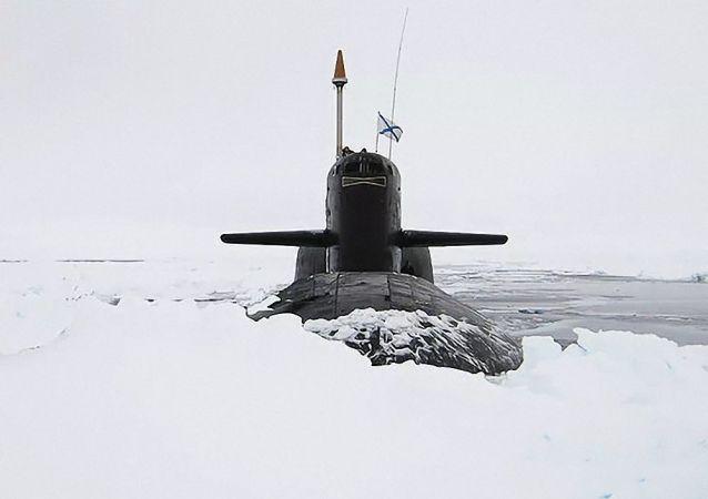 俄羅斯核潛艇