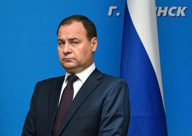 白俄羅斯總理羅曼·戈洛夫琴科