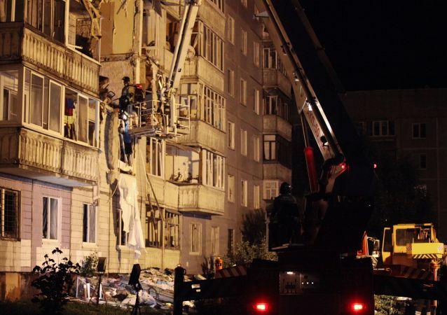 俄雅羅斯拉夫爾市居民樓燃氣爆炸事故死者人數升至兩人