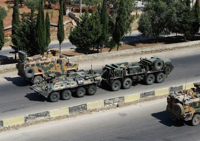 俄土軍方在敘利亞執行2021年首次聯合巡邏任務