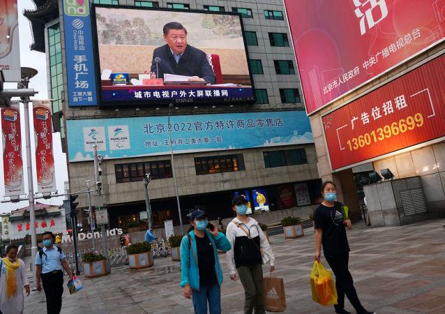 習近平:中國成為疫情發生以來第一個恢復增長的主要經濟體