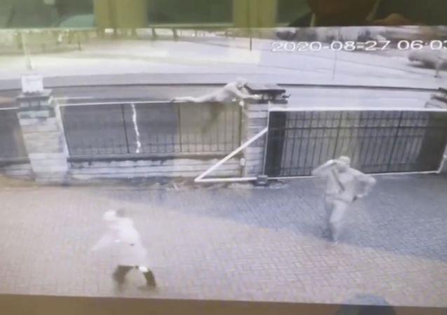利比亞外交部在駐明斯克使館遇襲