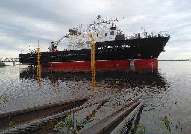 「亞歷山大•阿尼先科」號大型水文船