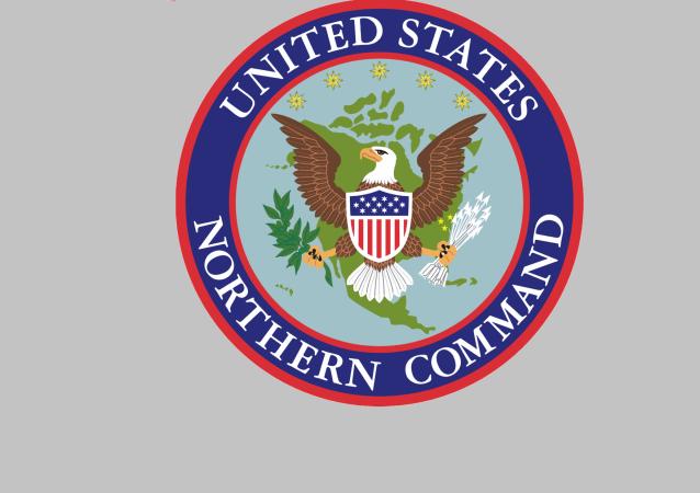 美國北方司令部徽章