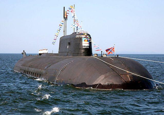 「鄂木斯克」號水下核巡洋艦