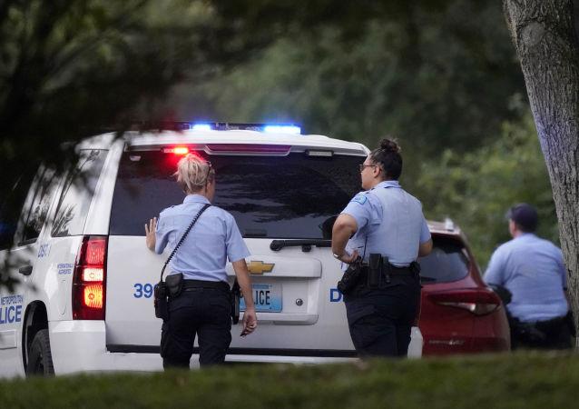 美國洛杉磯縣政府宣佈懸賞獲取槍擊警察犯罪分子的信息