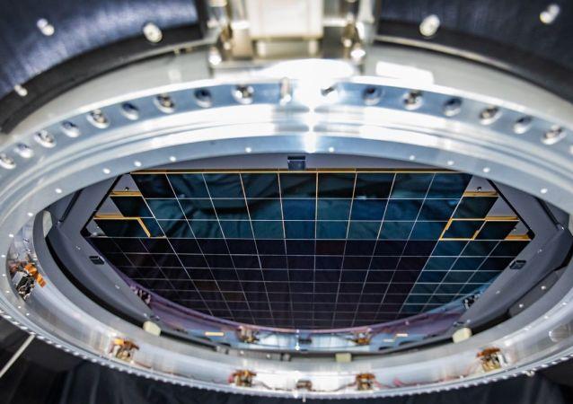 世界上最大的數碼相機拍攝首張照片