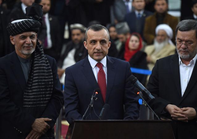 阿富汗第一副總統阿姆魯拉·薩利赫
