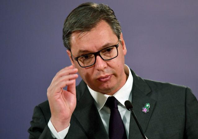 塞爾維亞總統亞歷山大·武契奇