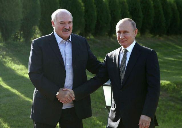 普京與盧卡申科