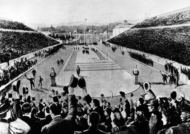 1896年的奧運會