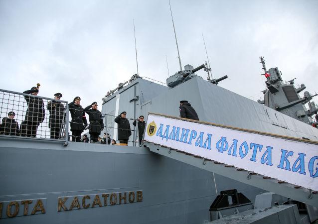 22350項目的第一艘護衛艦「卡薩托諾夫海軍上將」號