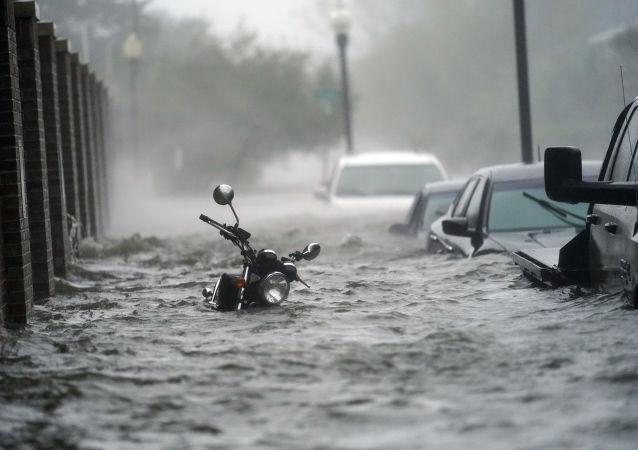 大多數美國人認為該國的火災和颶風與氣候變化有關