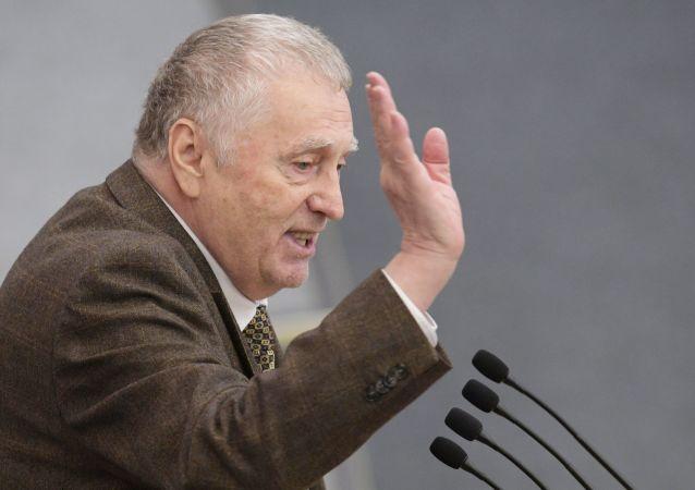 俄羅斯自由民主黨領導人弗拉基米爾•日里諾夫斯基
